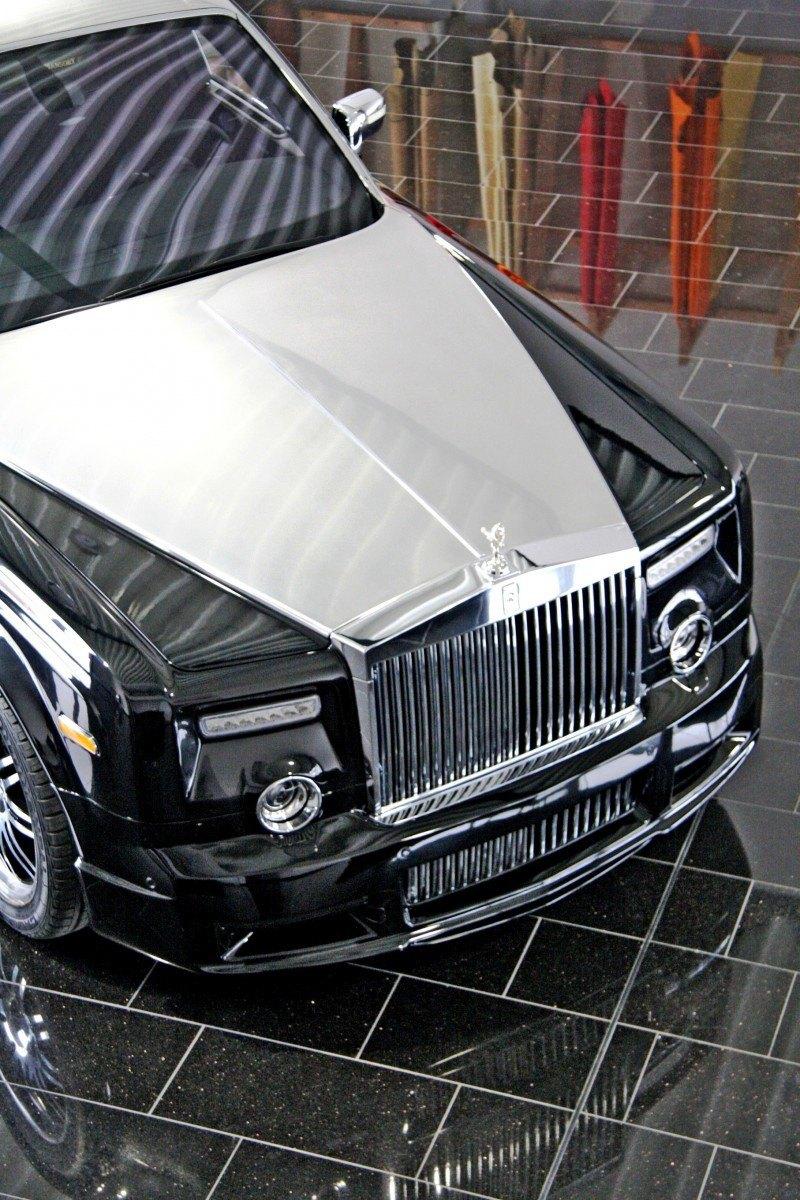 MANSORY Rolls-Royce Phantom Limo and Phantom Drophead Coupe Are 7.5L, V12TT Purebreds 34
