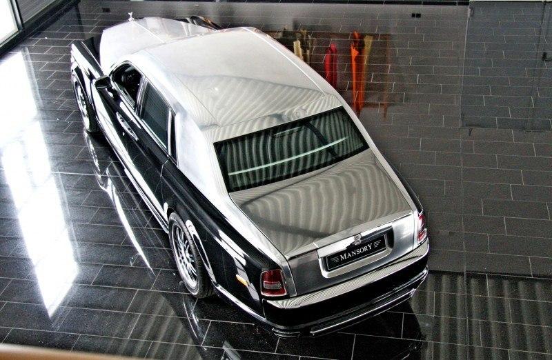 MANSORY Rolls-Royce Phantom Limo and Phantom Drophead Coupe Are 7.5L, V12TT Purebreds 4