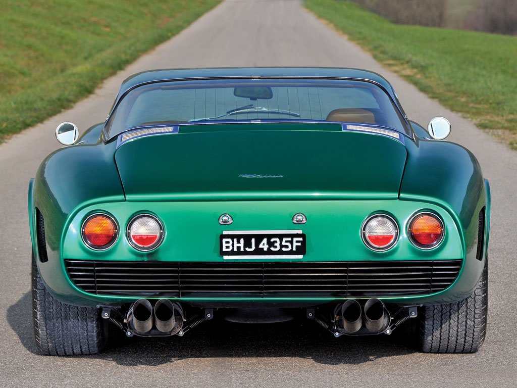 Iconic Classic Supercars 1965 Bizzarrini Strada Alloy 5300GT One of Most Influential Cars Ever