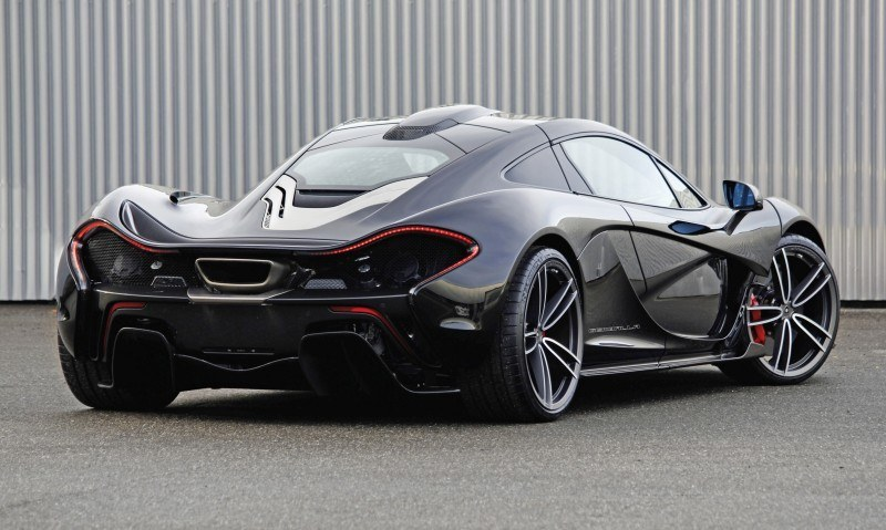 McLaren P1 on GEMBALLA GForged-one Wheels Specially Designed for McLaren 12C, 650S and P1 11