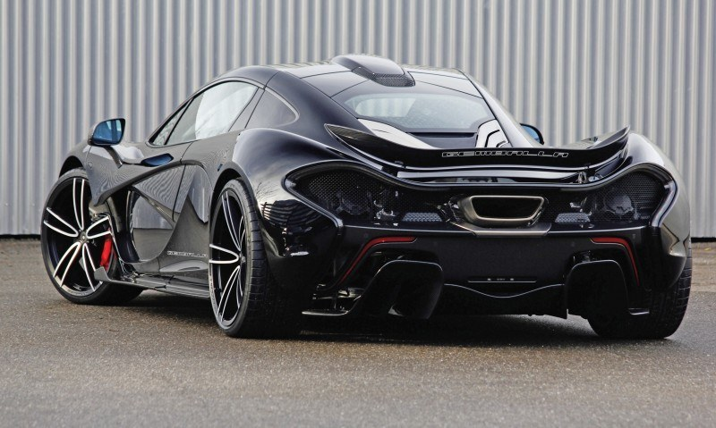 McLaren P1 on GEMBALLA GForged-one Wheels Specially Designed for McLaren 12C, 650S and P1 8