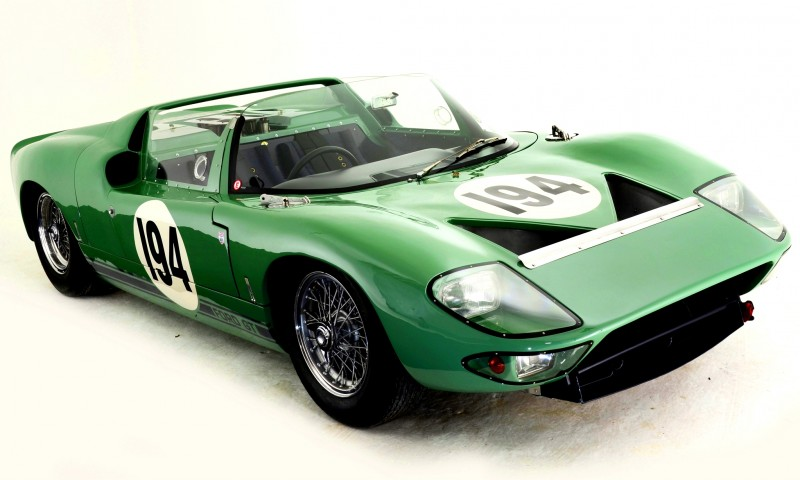Meet the Original 1964 Ford GT40 Concept and 1965 GT40 Roadster Prototype 7