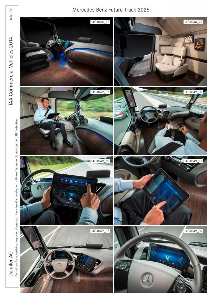 Mercedes-Benz FT2025 Is Daimler Trucks New Tech Flagship 2