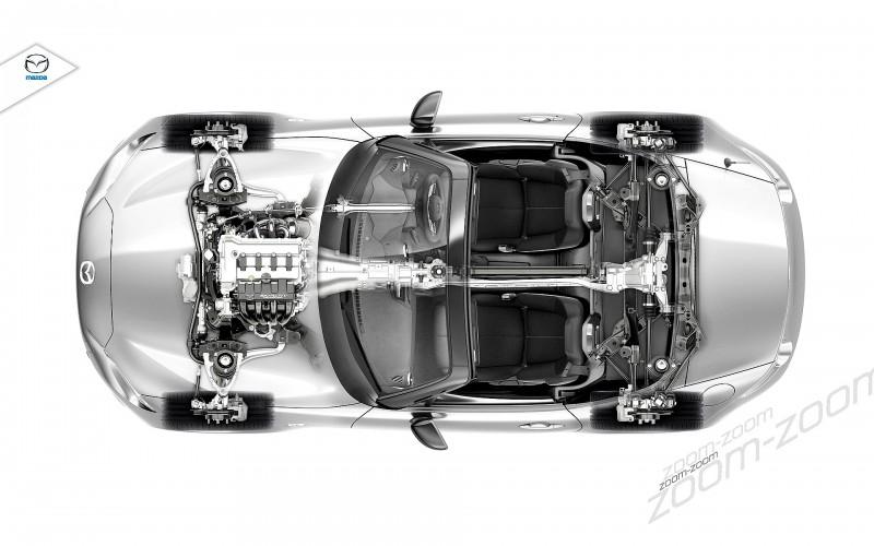 Next-Gen 2016 Mazda MX-5 First Look Shows Lean New Design 14
