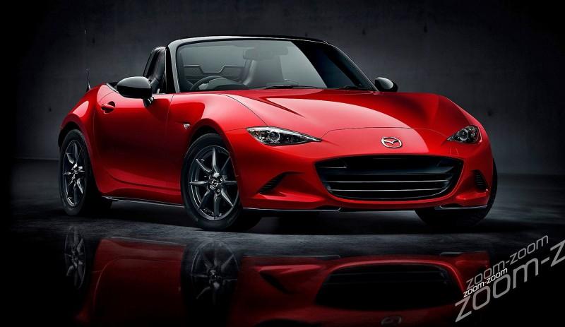 Next-Gen 2016 Mazda MX-5 First Look Shows Lean New Design 5