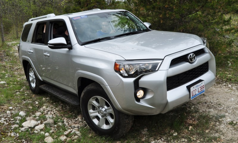 Off-Roading in the 2014 Toyota 4Runner SR5 - Guess Who Chickens Out First 23