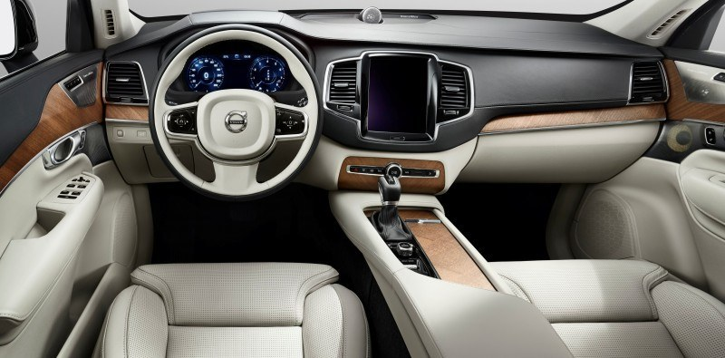 PRODUCTION 2015 VOLVO XC90 Interior First Look 10