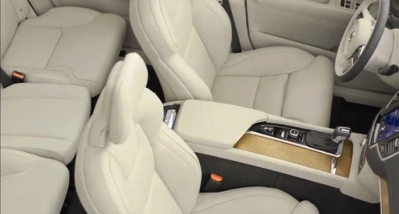 PRODUCTION 2015 VOLVO XC90 Interior First Look 27