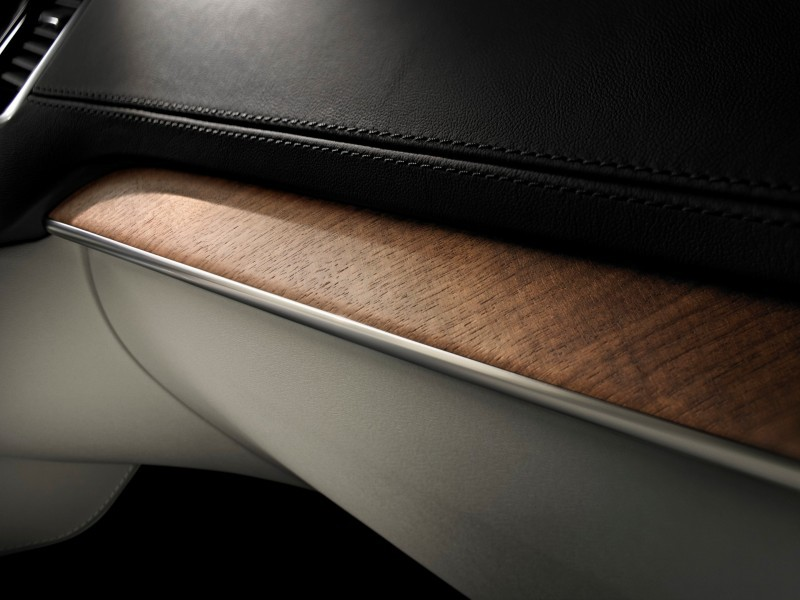 PRODUCTION 2015 VOLVO XC90 Interior First Look 6