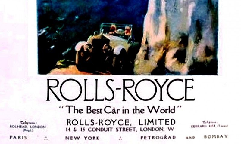 Past and Future Perfect - Rolls-Royce Is Evergreen in 111-Year History - 111 RARE Photos To Celebrate 501