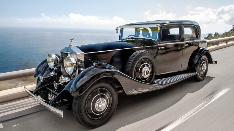 Past and Future Perfect - Rolls-Royce Is Evergreen in 111-Year History - 111 RARE Photos To Celebrate 61