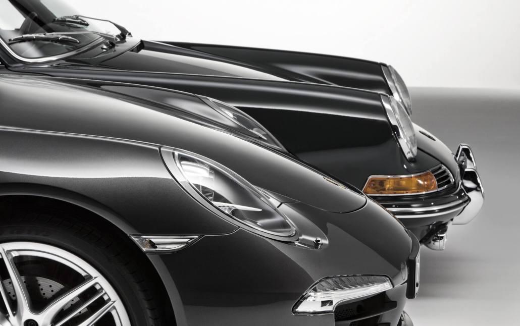 Porsche 911 Carrera S in Gorgeous Photo Shoot with Original Porsche 911 2