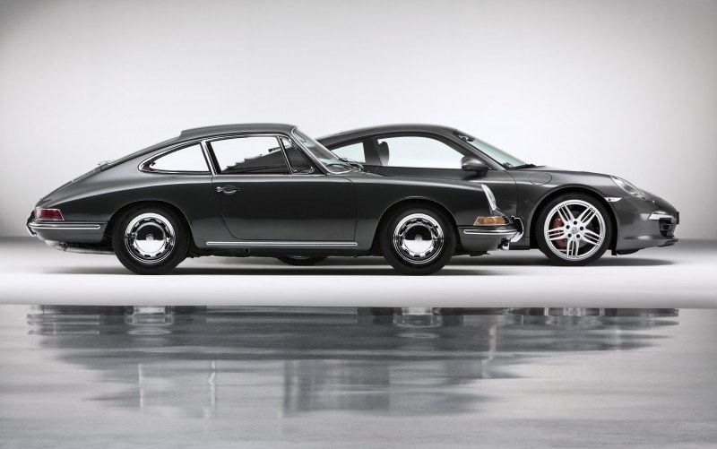 Porsche 911 Carrera S in Gorgeous Photo Shoot with Original Porsche 911 2.0-liter 20