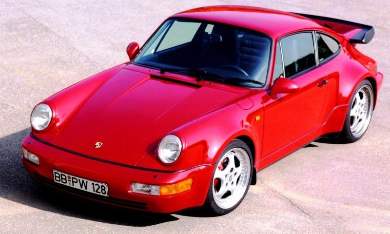 Porsche 911 Turbo Generations 12