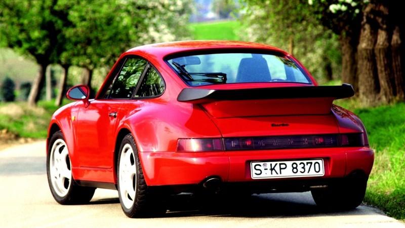 Porsche 911 Turbo Generations 13