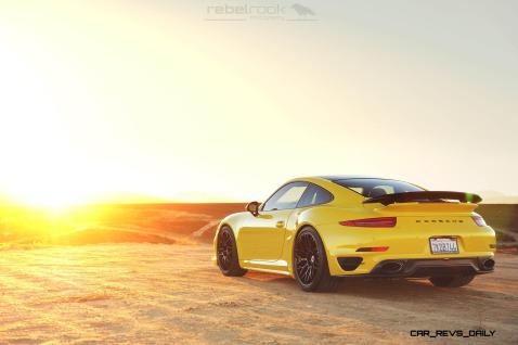 Porsche 991 Turbo S with HRE RC100 in Gloss Black_24147656256_o
