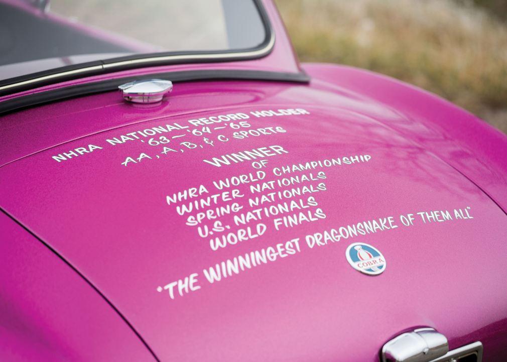 RM Arizona 2016 - 1963 Shelby 289 Cobra DRAGONSNAKE 10