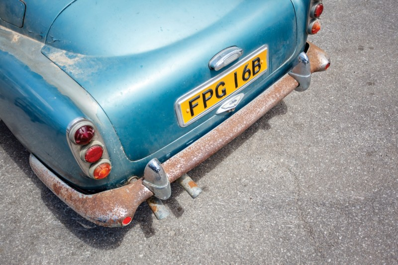 RM Auctions Monterey 2014 Preview - 1961 Aston-Martin DB4 Lost by Castrol Ltd, Found By You 18