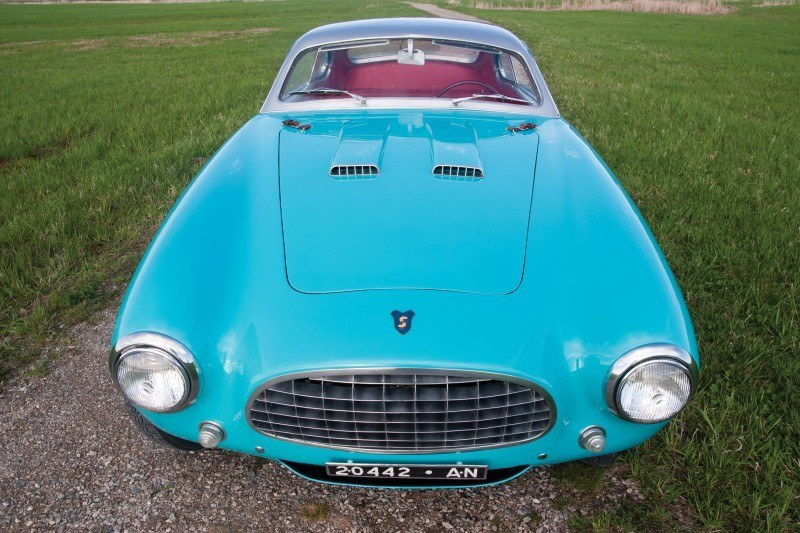RM Monterey 2014 Preview - 1953 Fiat-Siata 1500 Coupe Speciale 15
