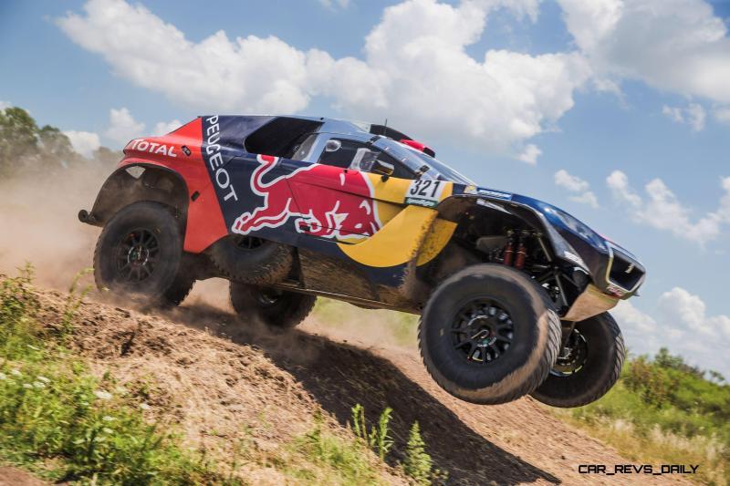 Rally Dakar 2016 Peugeot DKR16 Red Bull 1