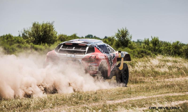 Rally Dakar 2016 Peugeot DKR16 Red Bull 12