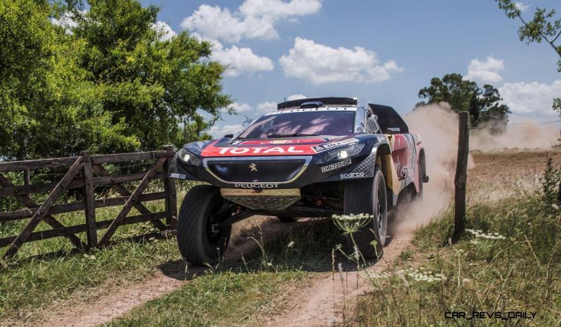 Rally Dakar 2016 Peugeot DKR16 Red Bull 15