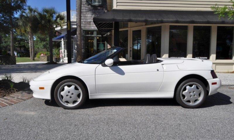 Rare Ragtops - A Pair of Lotus Elans Graced Kiawah Island, SC Cars and Coffee Today 15
