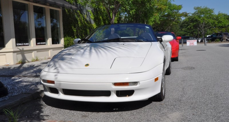 Rare Ragtops - A Pair of Lotus Elans Graced Kiawah Island, SC Cars and Coffee Today 2