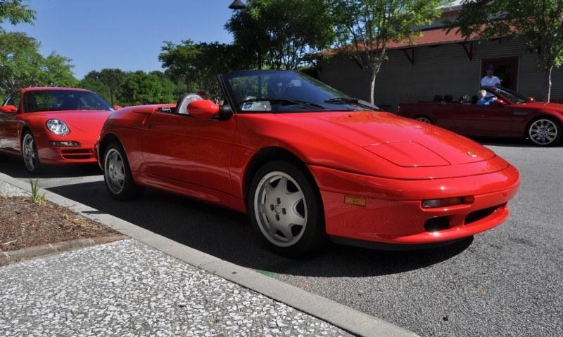 Rare Ragtops - A Pair of Lotus Elans Graced Kiawah Island, SC Cars and Coffee Today 24