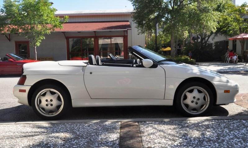 Rare Ragtops - A Pair of Lotus Elans Graced Kiawah Island, SC Cars and Coffee Today 6
