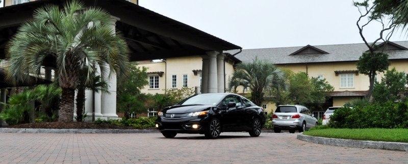 Road Test Review - 2014 Honda Civic EX-L Coupe 102