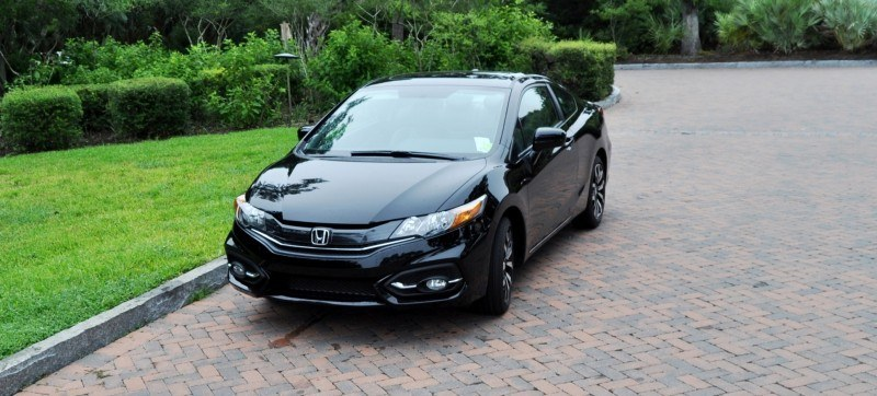 Road Test Review - 2014 Honda Civic EX-L Coupe 110