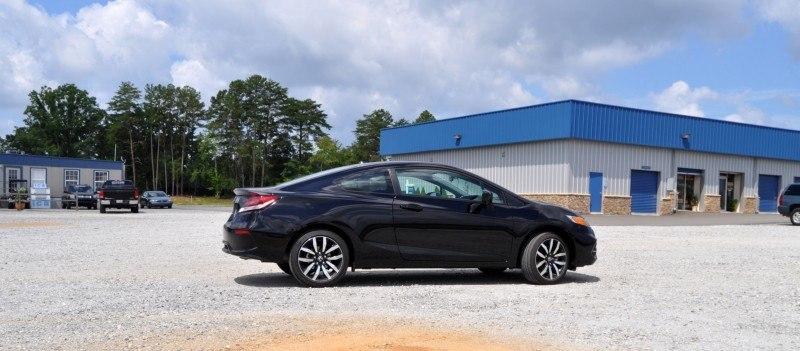 Road Test Review - 2014 Honda Civic EX-L Coupe 14