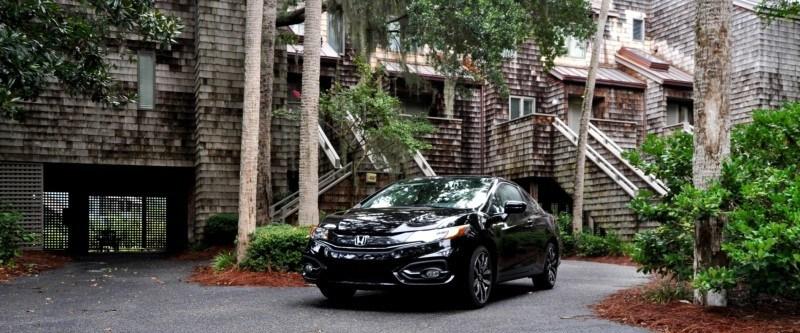 Road Test Review - 2014 Honda Civic EX-L Coupe 141