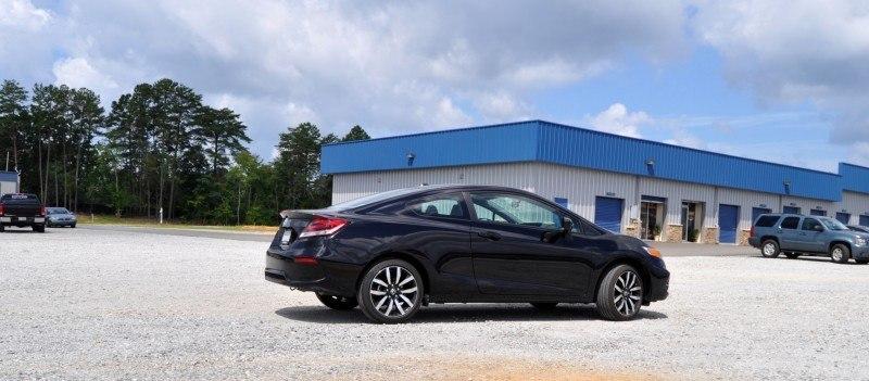 Road Test Review - 2014 Honda Civic EX-L Coupe 15