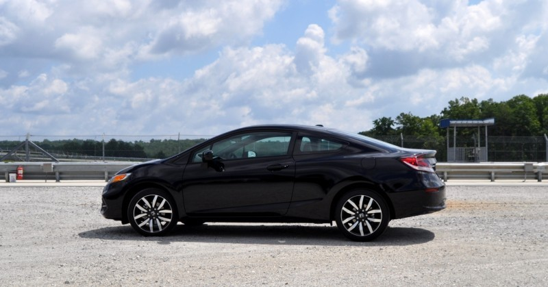 Road Test Review - 2014 Honda Civic EX-L Coupe 28