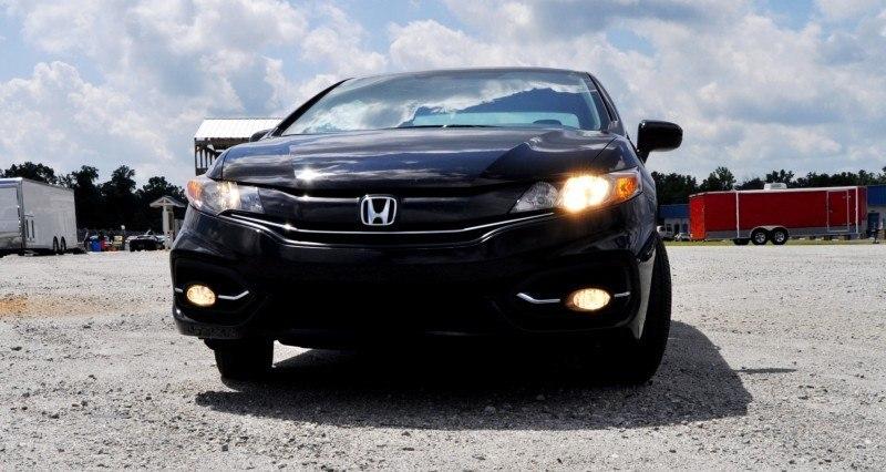 Road Test Review - 2014 Honda Civic EX-L Coupe 34