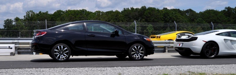 Road Test Review - 2014 Honda Civic EX-L Coupe 61