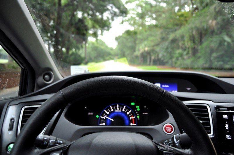 Road Test Review - 2014 Honda Civic EX-L Coupe 70