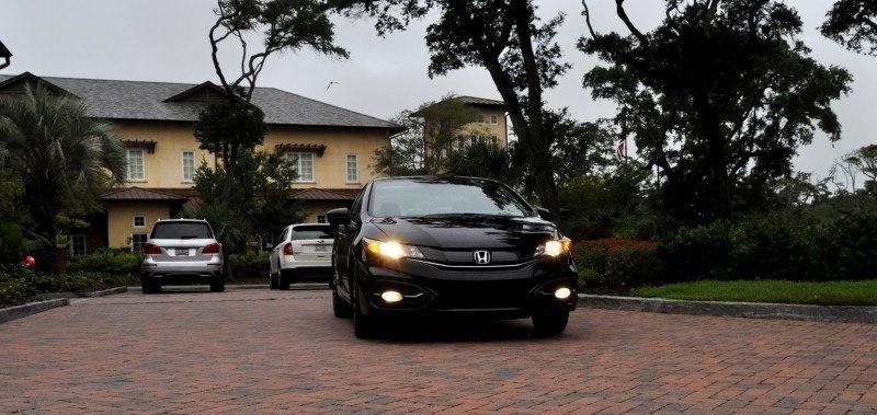 Road Test Review - 2014 Honda Civic EX-L Coupe 77