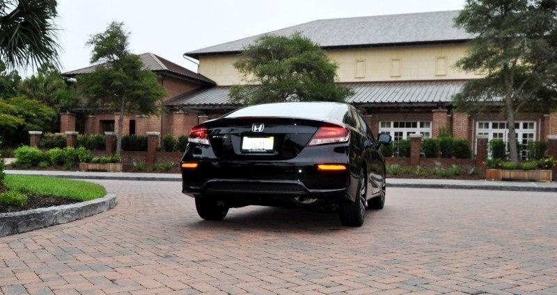 Road Test Review - 2014 Honda Civic EX-L Coupe 88