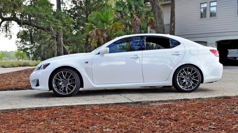 Road Test Review 2014 Lexus IS-F Is AMAZING 20