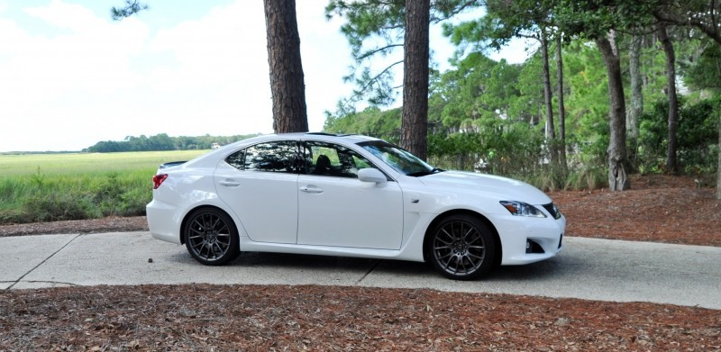 Road Test Review 2014 Lexus IS-F Is AMAZING 37