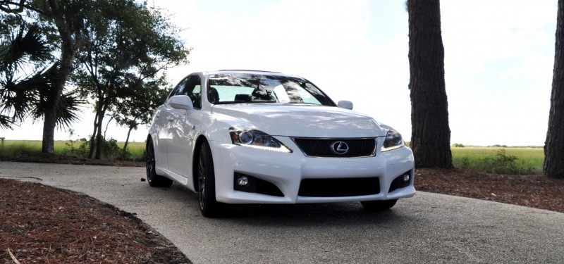 Road Test Review 2014 Lexus IS-F Is AMAZING 4