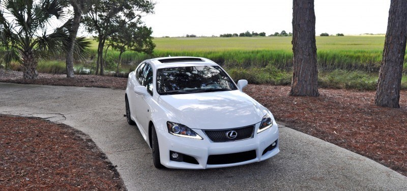 Road Test Review 2014 Lexus IS-F Is AMAZING 8