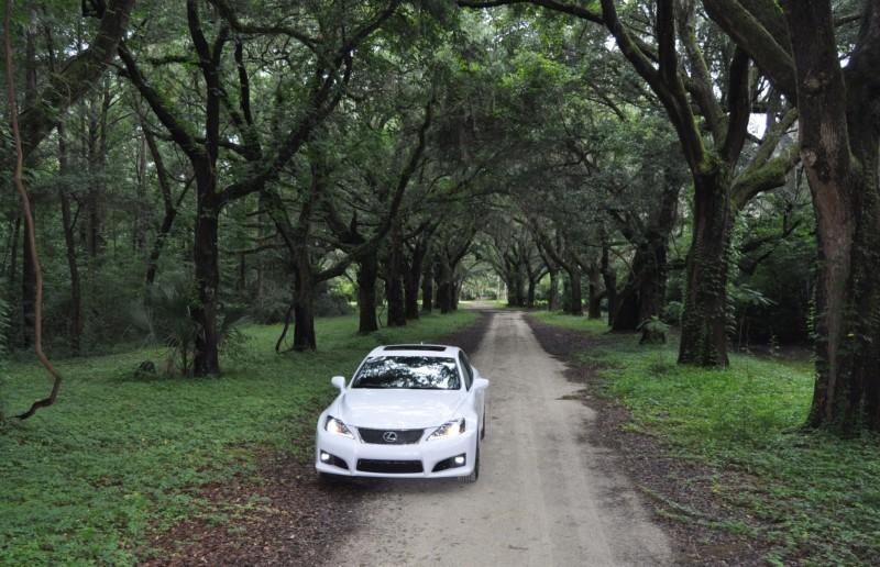 Road Test Review 2014 Lexus IS-F Is AMAZING Fun - 416HP 5.0L V8 Is Heaven in a Throttle 128
