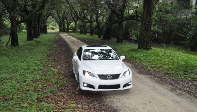 Road Test Review 2014 Lexus IS-F Is AMAZING Fun - 416HP 5.0L V8 Is Heaven in a Throttle 130