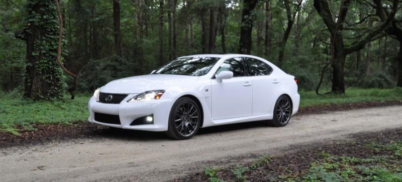 Road Test Review 2014 Lexus IS-F Is AMAZING Fun - 416HP 5.0L V8 Is Heaven in a Throttle 28