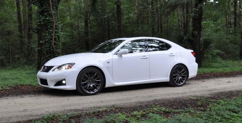 Road Test Review 2014 Lexus IS-F Is AMAZING Fun - 416HP 5.0L V8 Is Heaven in a Throttle 29