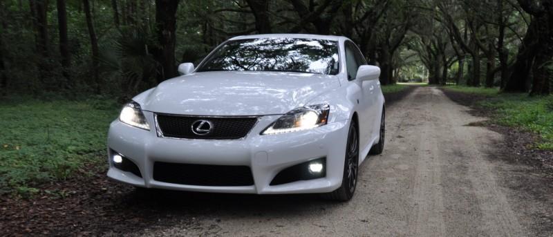 Road Test Review 2014 Lexus IS-F Is AMAZING Fun - 416HP 5.0L V8 Is Heaven in a Throttle 44